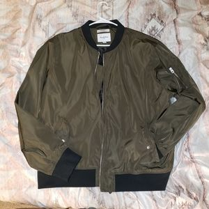 GoodFellow & CO Army Green Bomber Jacket NWOT